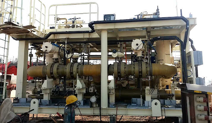 Self Cleaning Filter Skid Package Offshore Complete 1