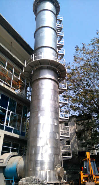 Calibration Tower Stainless Steel Complete 1