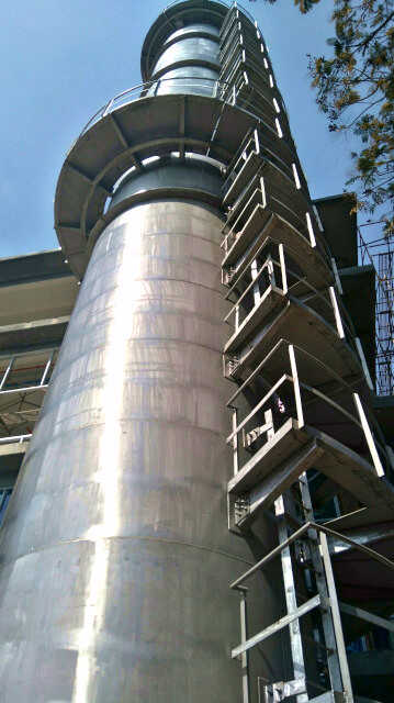 Calibration Tower Stainless Steel Complete 2