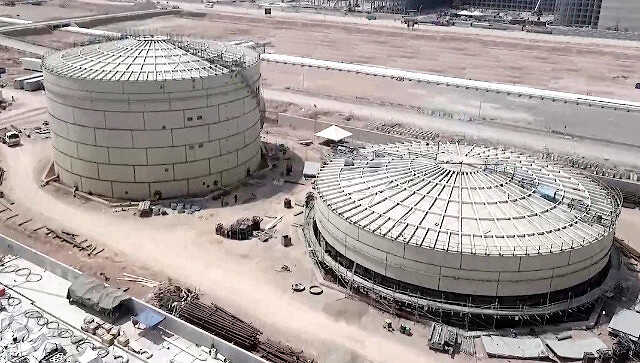 Petronas Rapid Project Equalization Tank
